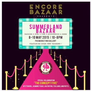 Summerland Bazzar in PIK (8-10 Mei 2015)Supported By Quality Power