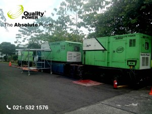 AC & Genset supported by Quality Power E-Class Product Training at PT Mercedes Benz, Tangerang, 20-23 March 2017.