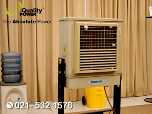 Rental AC & Cooling Fan supported by Quality Power Family Gathering at The Dharmawangsa Jakarta, 17 August 2017.