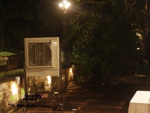Rental AC, Genset, Cooling Fan & Sound System supported by Quality power indonesia