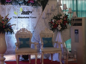 Rental AC, Genset, Misting Fan & Handwash portable supported by Quality Wedding Party at Immigration Building, Rasuna Said Road Jakarta, 6th Nov 2016