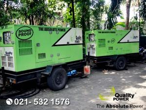 Rental AC, Genset & Sound System supported by Quality Power Wedding of Rahajeng & Deddy at Kemang Selatan Jakarta, 30 July 2017.