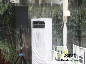 Rental AC, Genset, Sound System supported by Quality power indonesia