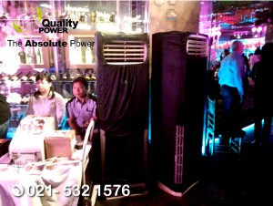 Rental AC & Genset supported by Quality Power Happy Birthday 50th Christina' s at Hotel Sultan Jakarta, 25 July 2017.