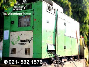 Rental AC & Genset supported by Quality Power Reception Party at pertukangan Road Jakarta, 01 May 2018