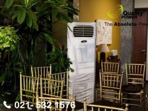 Rental AC & Genset supported by Quality Power, Wedding Reception at Kompleks Depkes Dapur Susu, Jakarta, 21 January 2018.