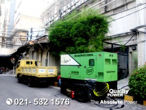 Rental AC & Genset supported by Quality Power Wedding of Andre & Anast at Ballroom Grand Duta Merlin Jakarta, 05 November 2017.