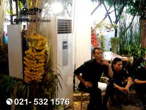 Rental AC & Sound System supported by Quality Power Happy Wedding of Ori & Septo at Kompleks BMKG Jakarta, 09 September 2017.