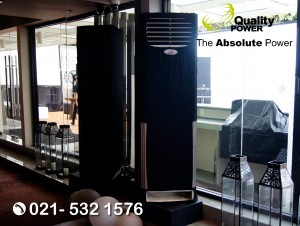 Rental AC supported by Quality Power Event at Pullman Thamrin, Jakarta, 11 August 2017.