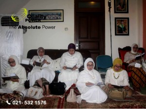 Rental AC supported by Quality Power Recitation of the Quran at Serdang 1 Road, Jakarta, 06 January 2017