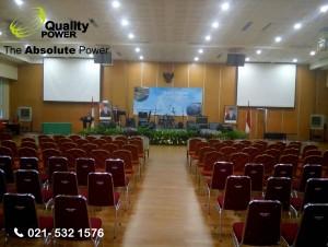 Rental Cooling Fan supported by Quality Power Bakudapa Lintas Angkatan Ex Jayapura at Sumber Daya Air - PU Building - Jakarta, 18 February 2017.