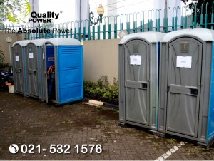 Rental Portable Toilet supported by Quality Power Celebrating 25 Years of Partnership ASEAN - INDIA at The Asean Secretariat Jakarta, 13 August 2017