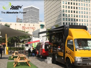 Rental Portable Toilet supported by QualityPower Indonesia