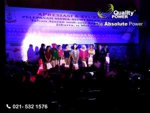 Rental Sound Syatem by Quality Power Appreciation & Thanksgiving SMAN 68 at IS Plaza Pramuka Jakarta, 11May 2017.