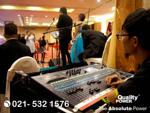 Rental Sound Syatem supported by Quality Power