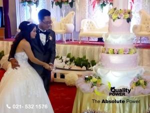 Rental Sound System by Quality Power The Wedding of Andreas & Van Thi Nhu Ngoo at Wisma Antara Jakarta, 8 May 2017.