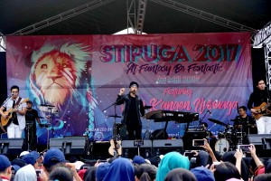 Rental Sound System supported by Quality Power 39th Anniversary SMAN 33 at SMAN 33 Cengkareng Jakarta, 20 May 2017.