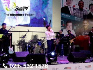 Rental Sound System supported by Quality Power, Auto2000 Talkshow at Gandaria City Mall, Jakarta, 27 January 2018.