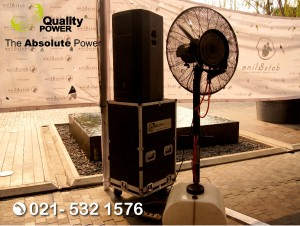Rental Sound System supported by Quality Power Bazaar at Avenue Mal, PIK Jakarta, 17 August 2017.