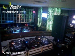 Rental Sound System supported by Quality Power  DJ & Music By @Ambienceindo Organizer at Blue Martini Bar - JW Mariott Hotel Jakarta, 25 February 20