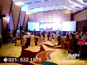 Rental Sound System supported by Quality Power, Dutro Customer Gathering at Ciputra Hotel Jakarta, 29 March 2018.