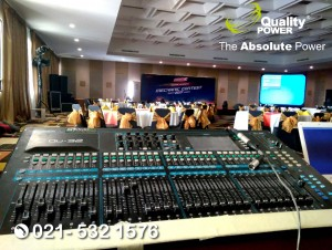Rental Sound System supported by Quality Power Federal Oil Mechanic Contest 2017 at Lamont Hotel Gading Serpong Tangerang, 13 September 2017.