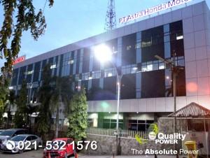 Rental Sound System supported by Quality Power Halal bihalal at Astra Honda Motor Sunter Jakarta, 26 June 2018