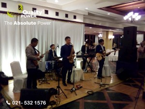 Rental Sound System supported by Quality Power  Happy Wedding of Junior Gozali & Diliana at Ceria Room Shangrila Hotel Jakarta, 12 February 2017.