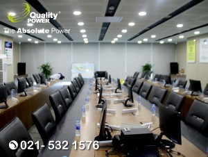 Rental Sound System supported by Quality Power Meeting at PT Samsung, Jakarta, 03 August 2017.