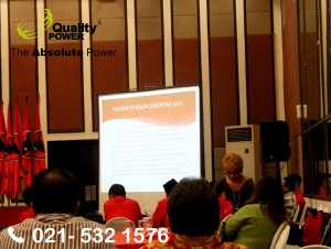 Rental Sound System supported by Quality Power Seminar Nasional PDIP Perjuangan at Acacia Hotel, Jakarta. 21 December 2017.