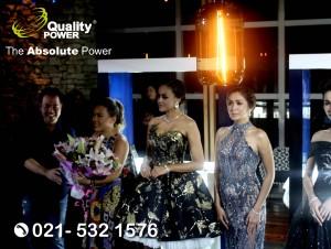 Rental Sound System supported by Quality Power Talk Show at Skye Menara BCA Jakarta. 08 November 2017.
