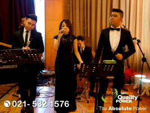 Rental Sound System supported by Quality Power The Premiere Open House of JW Marriott & Weddingku at JW Marriott Jakarta, 02 September 2017.