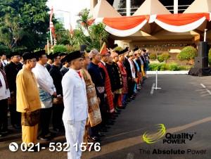 Rental Sound System supported by Quality Power Upacara Bendera Hari Kemerdekaan Indonesia YTKI Gatot Subroto, Jakarta 17 Agustus 2017