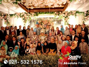 Rental Sound System supported by Quality Power, Wedding Reception at Shangri-la Jakarta, 18 March 2018.