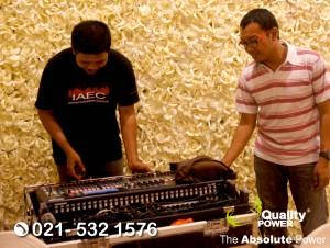 Rental Sound System supported by Quality Power Wedding of Ardi Salim & Gabriella Yukilieta at JW Marriott, Jakarta, 17 September 2017.