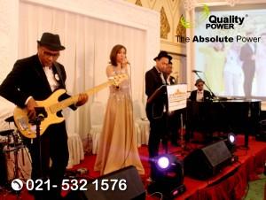 Rental Sound System supported by Quality Power Wedding of Dessy & Eka at Kirana Ballroom Kartika Chandra, Jakarta, 22 October 2017.