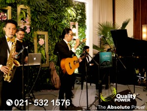 Rental Sound System supported by Quality Power Wedding of Mia & Sammy at Grand Ballroom Four Seasons Hotel Jakarta, 06 August 2017.