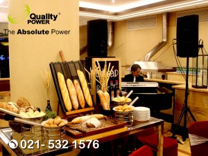 Rental Sound System supported by Quality Power Wedding of Robert & Mcita at Sailendra Restaurant Jakarta, 05 November 2017.