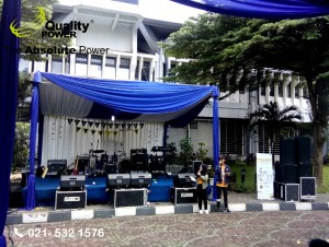 Rental Sound System supported by Quality Power  ekan Raya Perpajakan Nasional 2017 Event at STAN Campus, Tangerang, 26 March 2017.