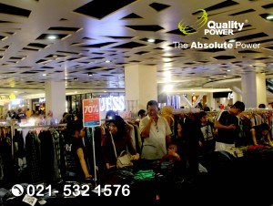 Rental Sound System supported by Quality Power.