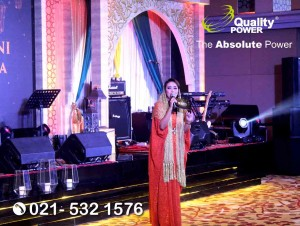 Rental Sound System supported by Quality Power