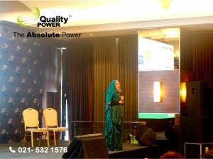 Rental sound system supported by Quality Power Jakarta Nutriton Club Sharing at Baywalk Sudirman Jakarta, 19 January 2017.